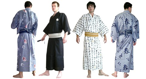 Mens Japanese Kimono