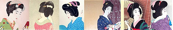 Japanese hair accessories  collection. The Kimono From Japan Online Shop