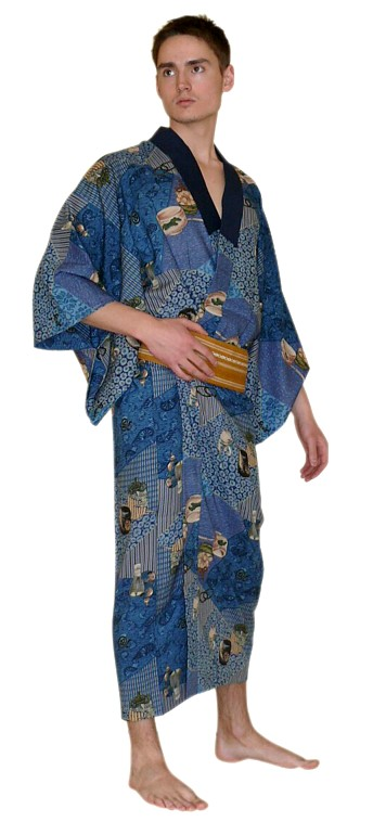 Category: Traditional Japanese Kimono, Costumes and Clothing