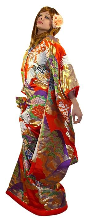 japanese vintage wedding kimono 1960s japanese wedding